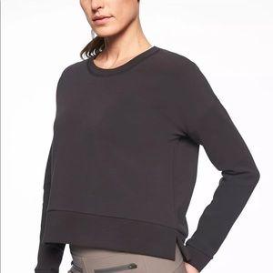 Athleta Black Modern Sweatshirt
